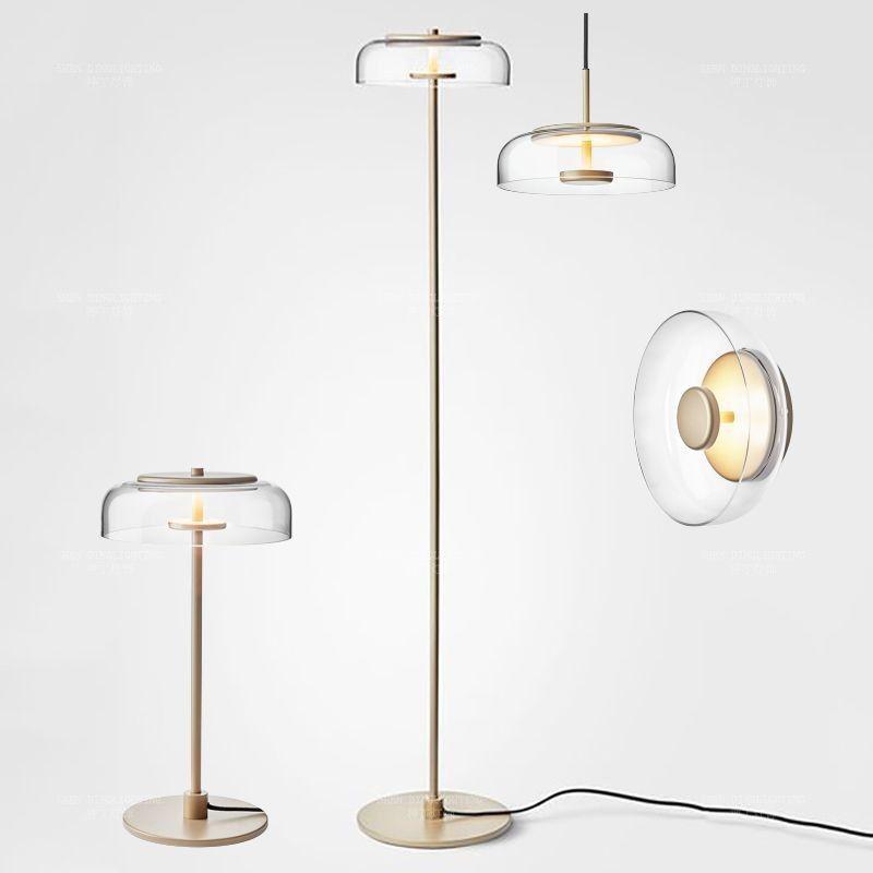 Kreative einfache boden lampen glas ball stehend lampe chrom gold für wohnzimmer schlafzimmer neue design art home dekoration beleuchtung