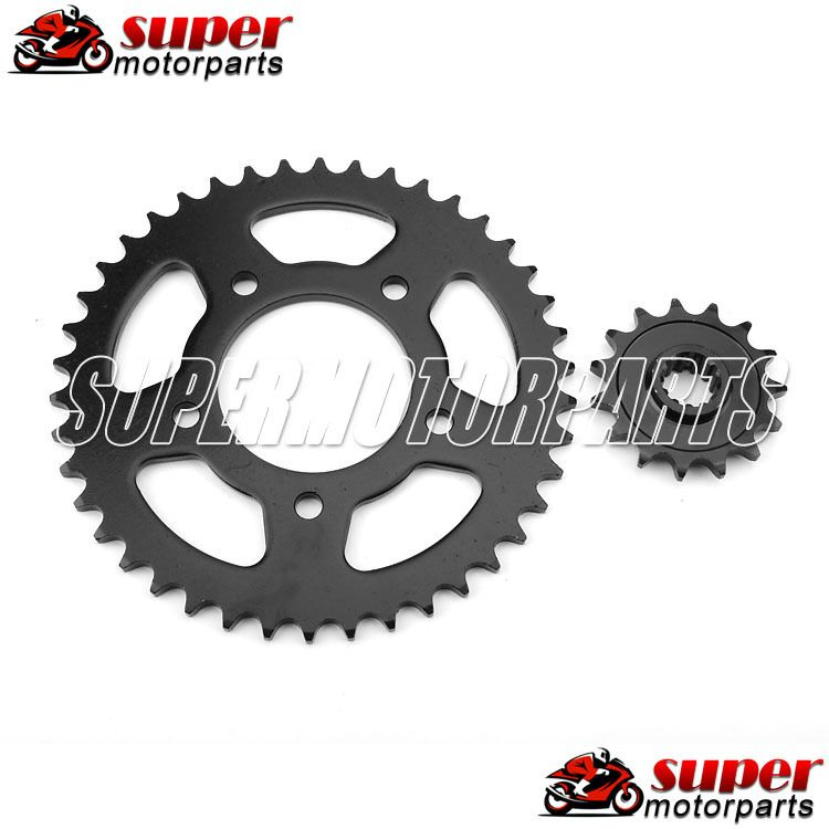 1 Set Front and Rear For HONDA CB400 CB-1 Motorcycle Sprocket Chain 92-98 1992 1993 1994 1995 1996 1997 1998
