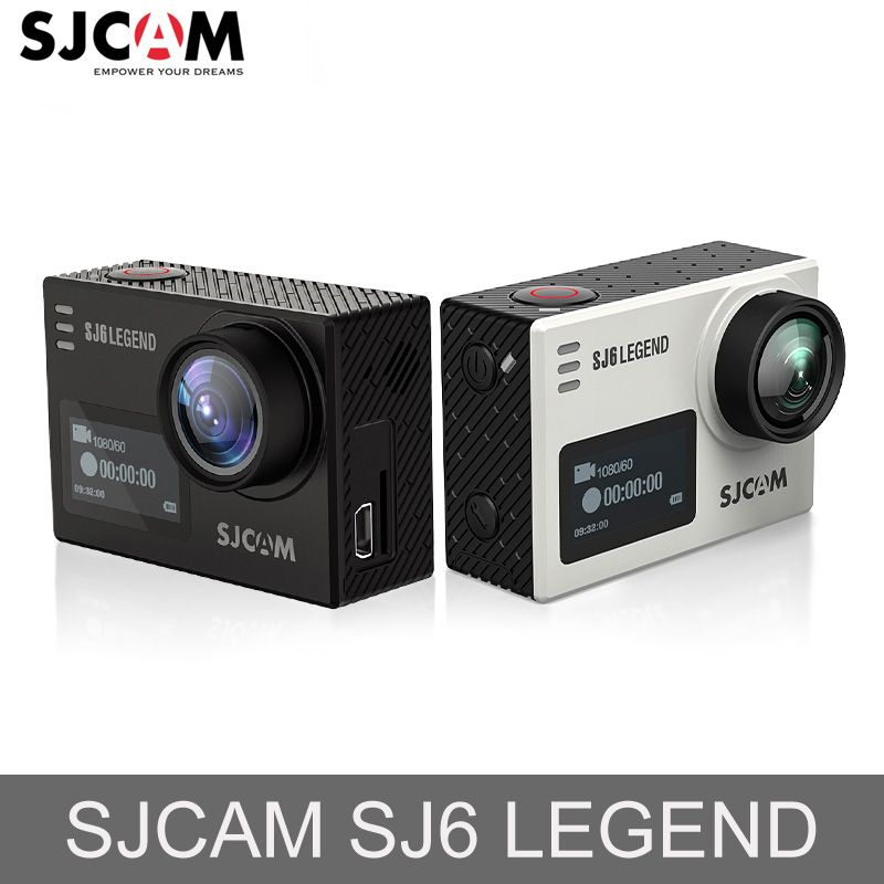 SJCAM SJ6 Legend Novatek96660 Gyro 4K Ultra HD Action Camera WiFi Remote Control Action Video <font><b>Cam</b></font> 16MP Waterproof Sport Camera