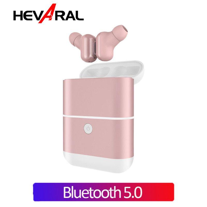 Hevaral X2 TWS Drahtlose Kopfhörer Bluetooth 5,0 Ohrhörer Freisprecheinrichtung Binaural Aufruf Kopfhörer Für iphone Für Xiaomi Android Handys