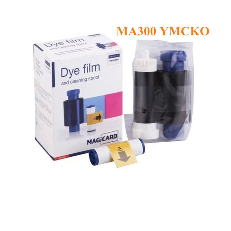 Magicard MA300 YMCKO 300 Prints/roll Color ribbon for ENDURO RIO PRO PRONTO card printer ribbons uk