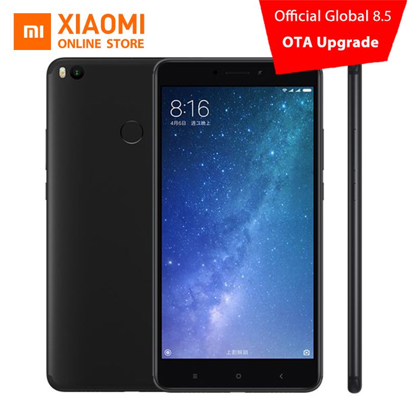 Original Xiaomi Mi Max 2 4GB 64GB Mobile Phone 6.44