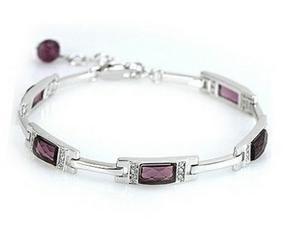 2017 NEUF de haute qualité dames bracelet/925 sterling argent Autriche cristal femmes bracelets bijoux en gros drop shipping