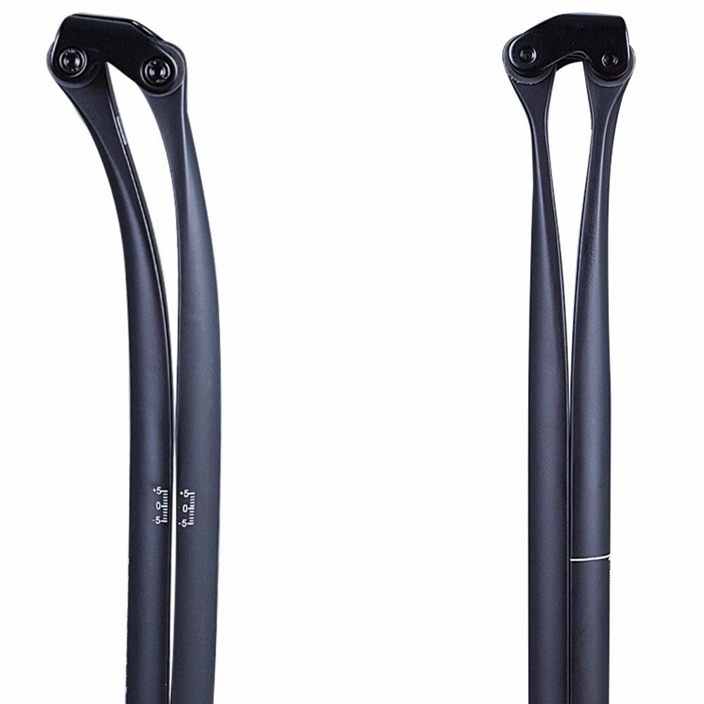 Matte Full UD Carbon Fiber Bicycle Seat Post Bike SeatPost For Road Mountain Cycling Parts 20 & 5 Degree 27.2/30.8/31.6*330mm