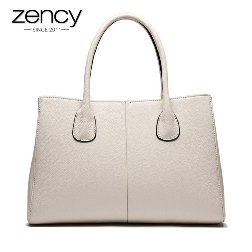 New Arrival 7 Colors 100% Soft Genuine Leather Fashion Women Handbag High Quality Female Casual Tote Office Ladies Business Bag