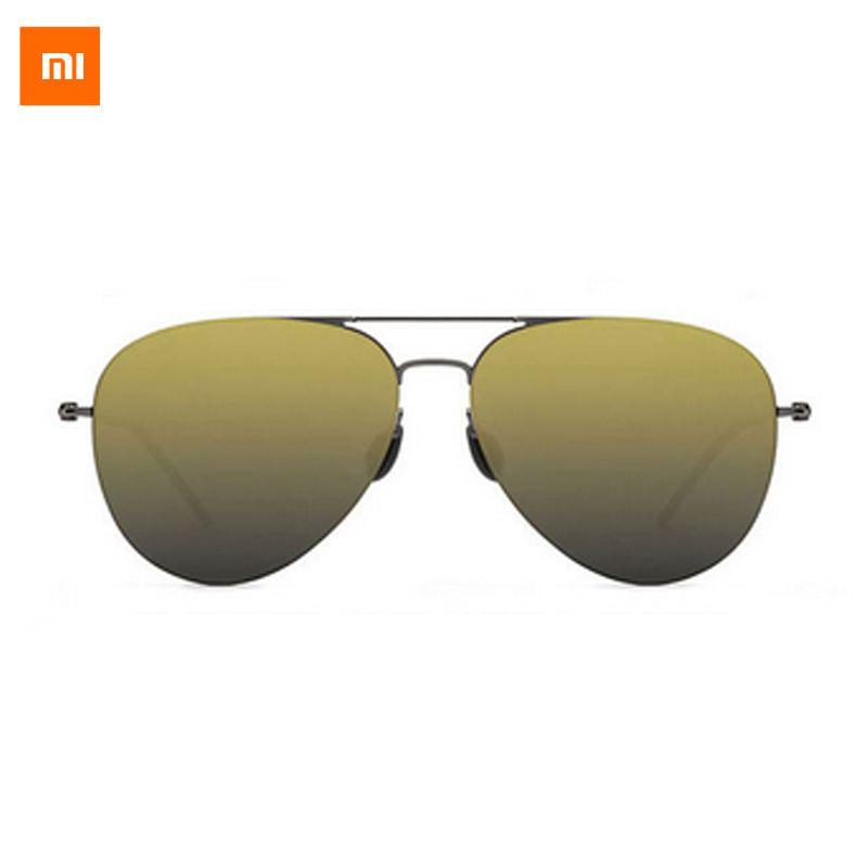 2017 Nouveau Xiaomi Turok Steinhardt TS Marque Nylon Polarisées Inoxydable UV-Preuve Soleil Lentilles Avec Cachée Boarder Design