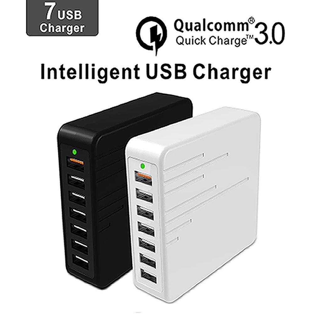 Chargeur USB de Charge Multiple Rapide de Charge 7 Port Multi USB Chargeur Chargeur USB Multiples Dispositif De Charge Chargeur Charge Rapide