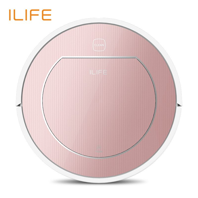 ILIFE V7s Plus <font><b>Robot</b></font> Vacuum Cleaner with Self-Charge Wet Mopping for Wood Floor