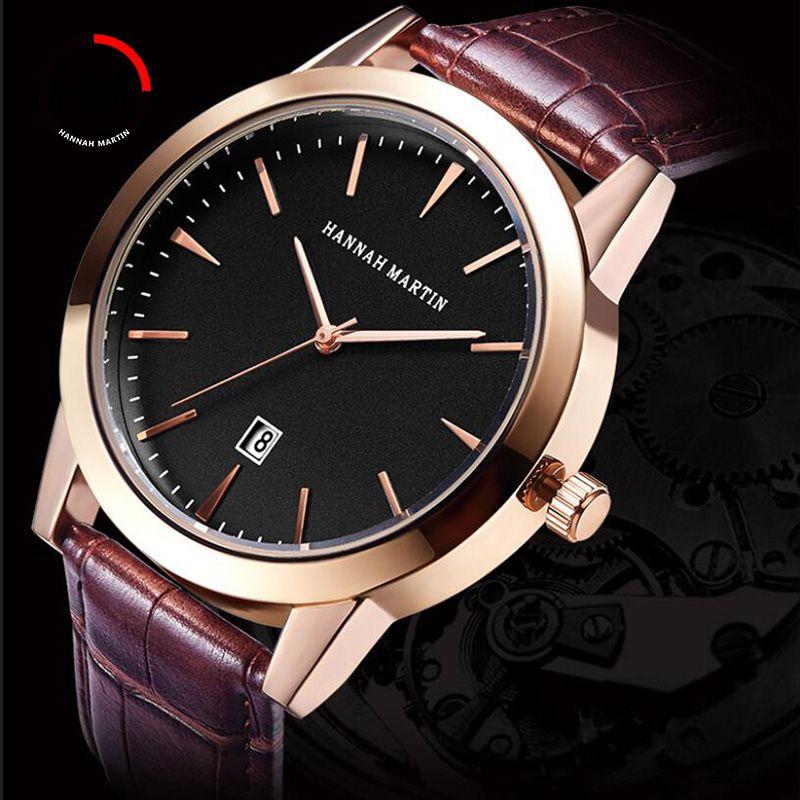 Männer Handgelenk Uhren Quarzuhr Männer Top Luxus Marke Leder Business Männliche Uhr Kreative Kalender Uhr Relogio Masculino Xfcs