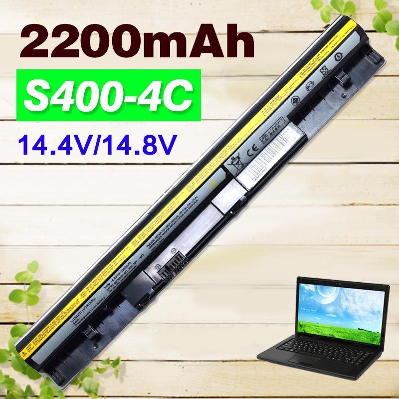 2200 mAh Schwarz Batterie Für Lenovo IdeaPad S300 S310 S400 S400u S405 S410 S415 4ICR17/65 L12S4L01 L12S4Z01