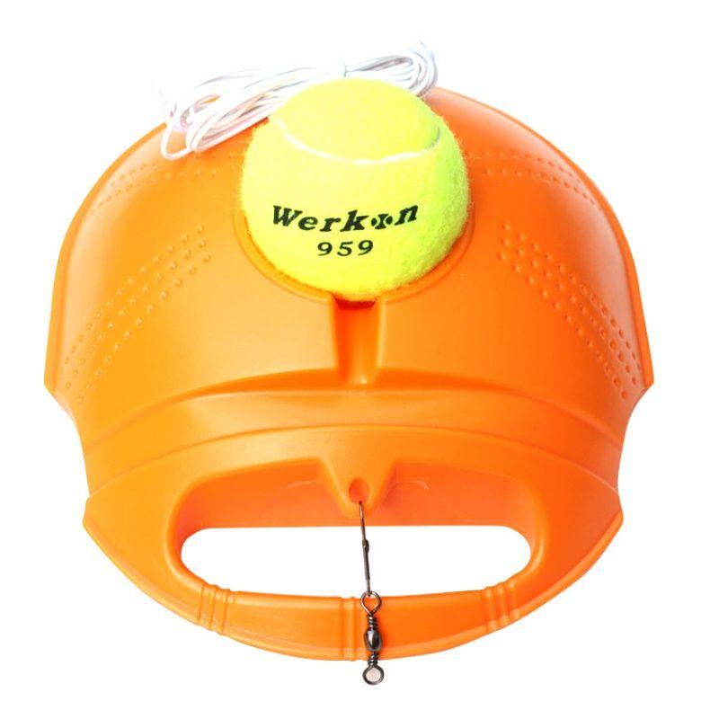 Rebound Tennis Trainer Set Trainingshilfen Ausrüstung Praxis Partner für Anfänger