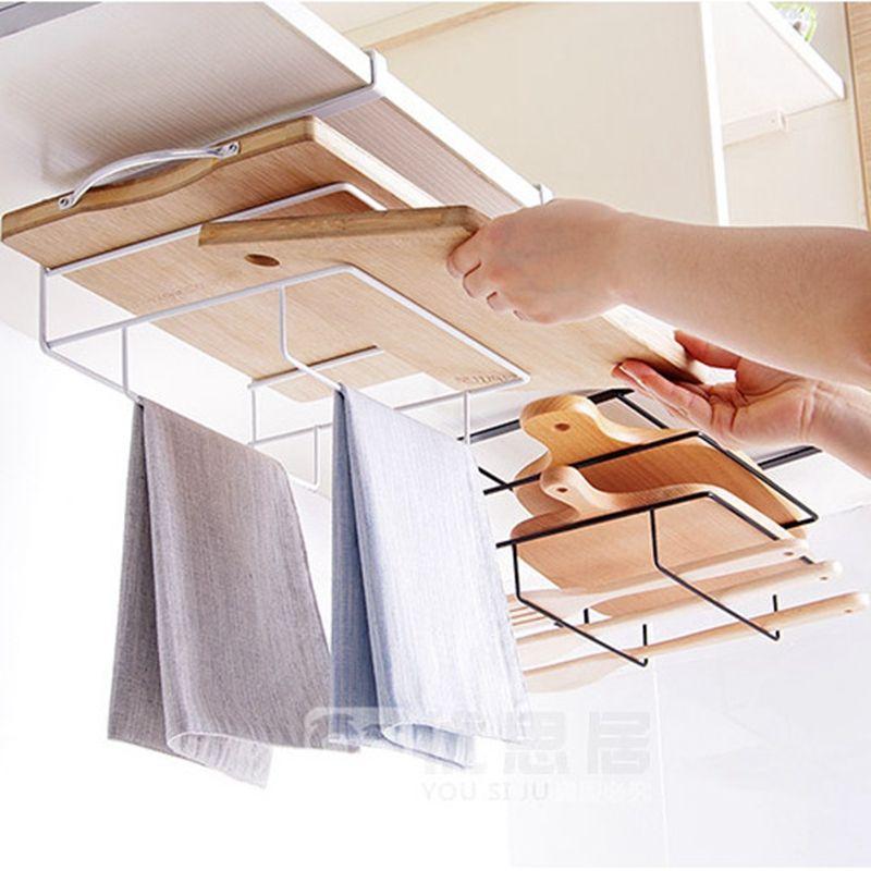Réfrigérateur support ventouse crochet étagère multifonction organisateur d'espace cuisine crochet support de condiment bouteilles de stockage rack