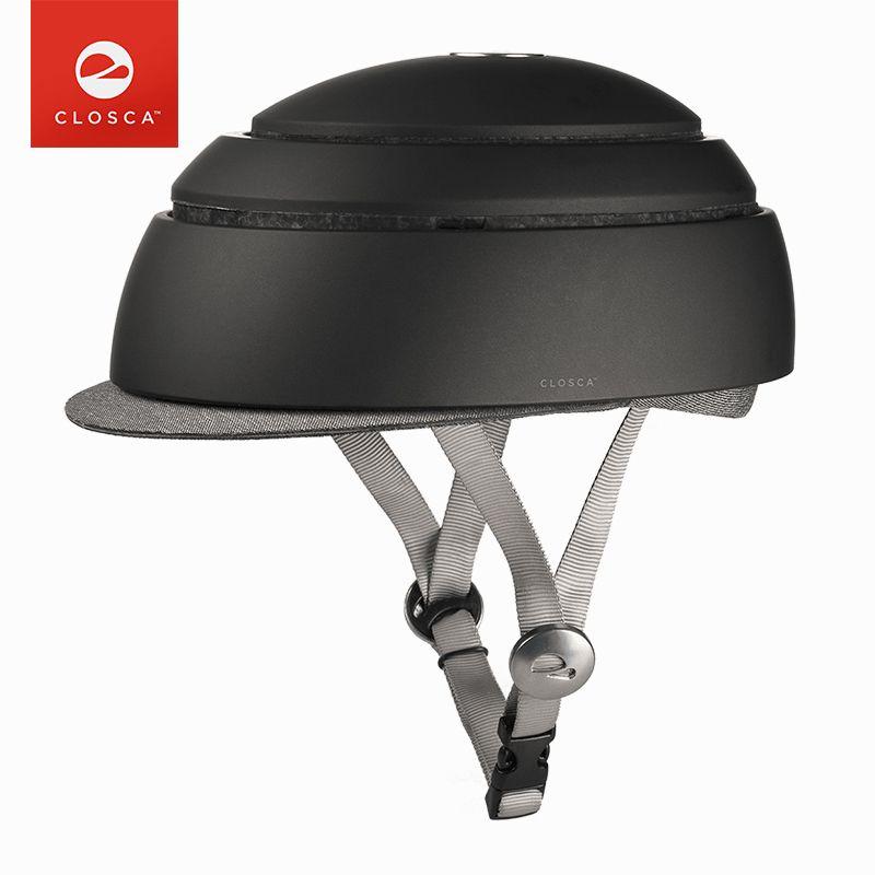 CLOSCA FUGA Klapprad Helm EPS + PC Ultraleicht Sicher Rennrad MTB Helm Frauen Männer Tragbare City Freizeit Radfahren ausrüstung