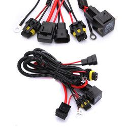 9005 9006 H1 H3 H7 H8 H9 H11 Relay Harness Kawat Lampu Xenon Cahaya Controller Socket Adapter Plug Kabel Kabel Konversi Kit