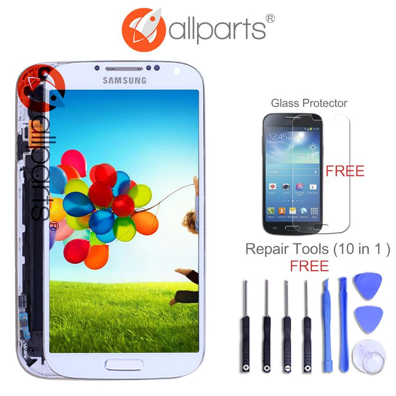 5.0'' Super IPS LCD for SAMSUNG Galaxy S4 LCD Display with Frame GT-i9505 i9500 i9505 i337 i9506 i9515 Touch Screen Digitizer