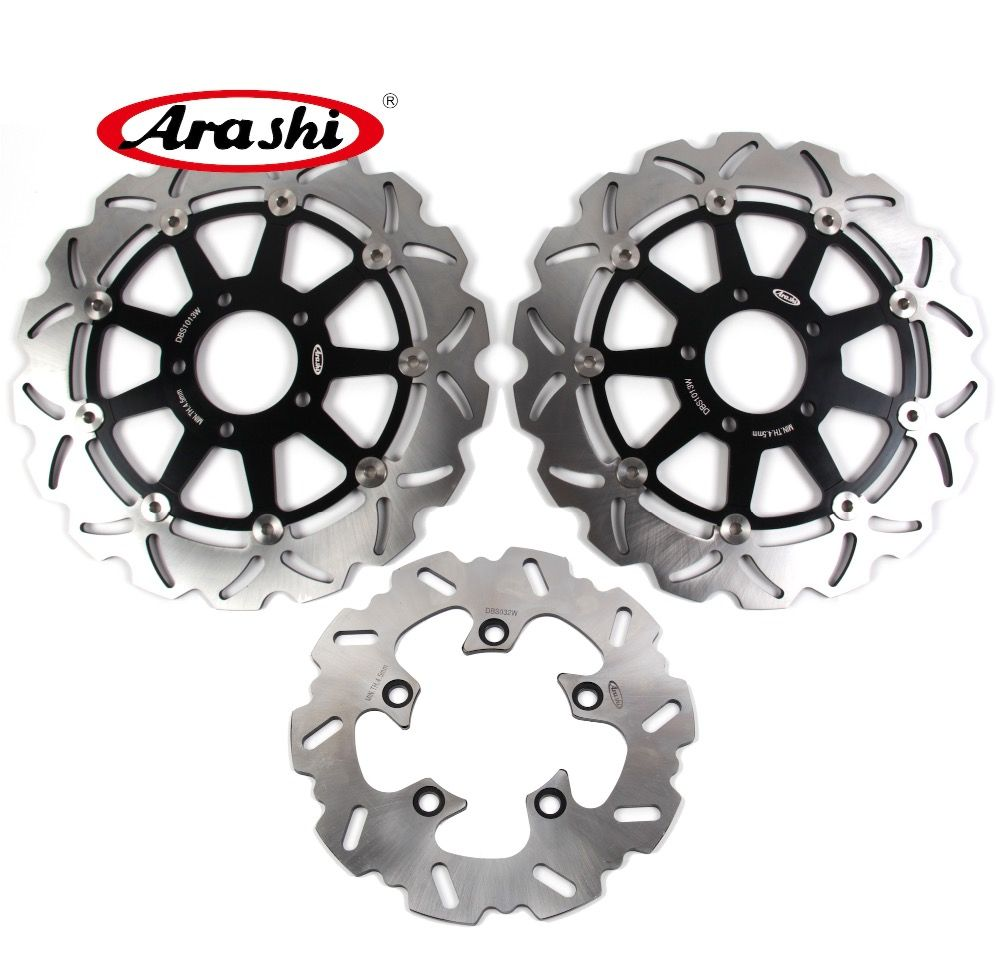 ARASHI FOR SUZUKI TL1000S TL 1000S TL 1000 S 2001-1997 1998 1999 2000 WAVE GSXR600/750 CNC Front Rear Brake Rotors Brake Disc