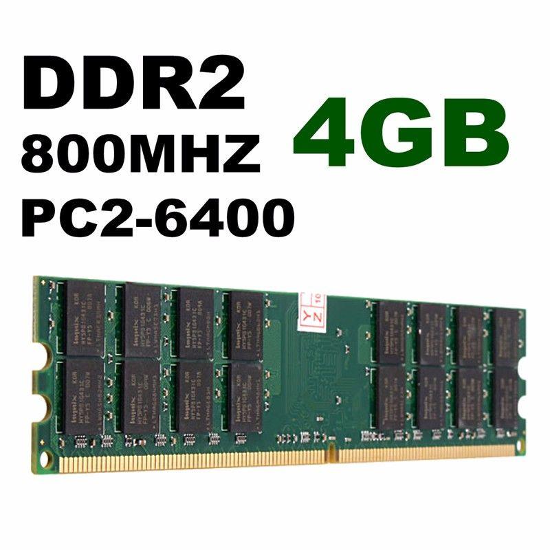Marke Neue 4 GB DDR2 800 MHZ PC2-6400 240 Pins Desktop PC Speicher Für AMD Motherboard Hight Qualität