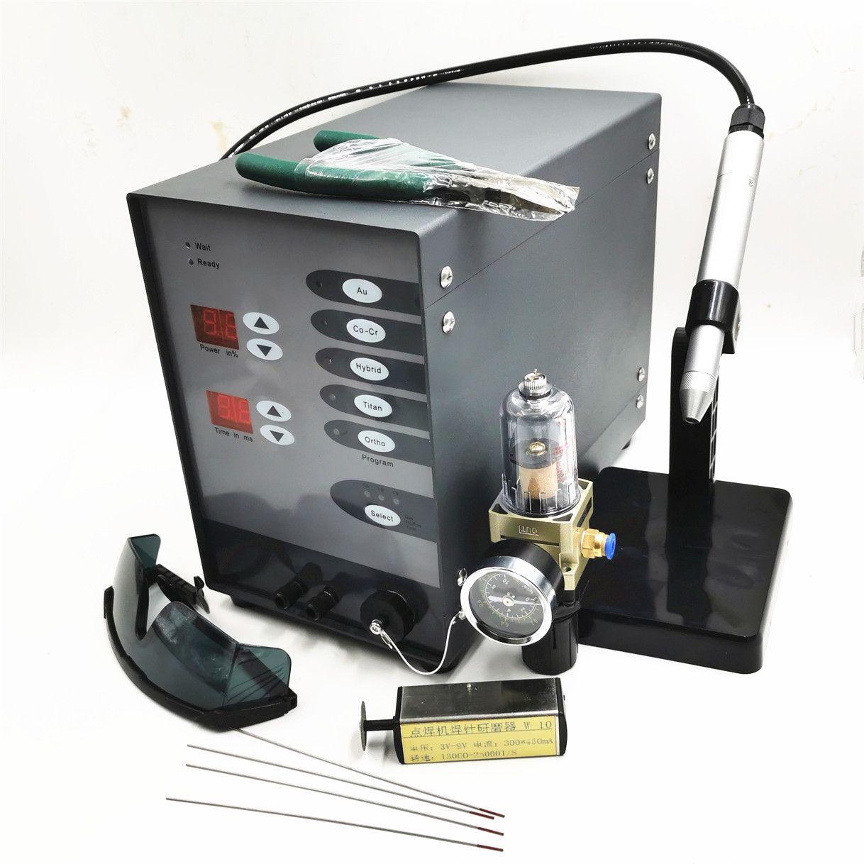 Edelstahl Spot Laser Schweißen Maschine Automatische Numerical Control Pulse Argon Arc Schweißer Spot Schweißer für Löten Schmuck