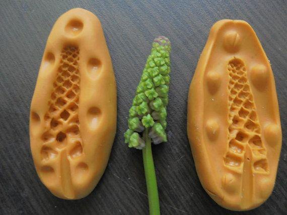 Завод листва Пшеница силикона fandont плесень пшеницы силикагеля формы завод шоколада бутон Конфеты Плесень бутон силиконовые формы