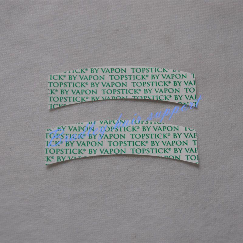 36 unids/bolsa Top Extensión Del Pelo Stick Impermeable TSCB Vapon Adhesiva Doble Cinta Para Peluquines/Peluca de Encaje/Doble la Extensión Del Pelo grabada