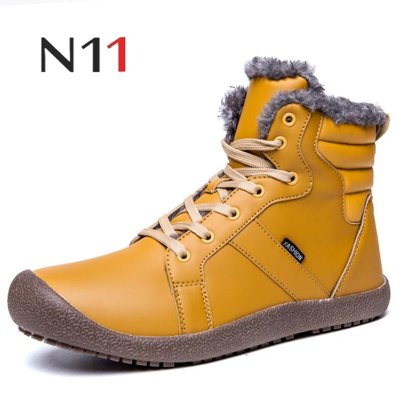 2018 Winter/autumn Outdoor Boots Men Shoes Male Adult Casual Ankle Rubber Anti-skidding Boots Men Work Safety Shoes Footwear