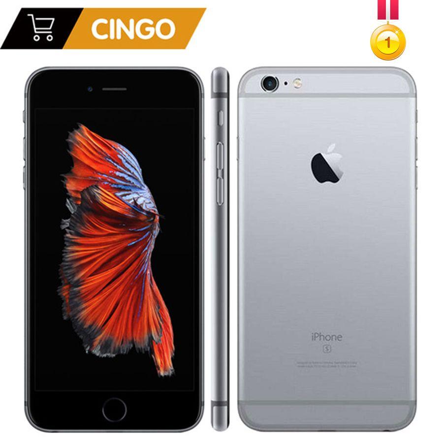 Unlocked Apple iPhone 6s <font><b>Plus</b></font>/iPhone 6s 2GB RAM 16/64/128GB ROM Cell Phone IOS A9 Dual Core 12MP Camera IPS LTE Smart Phone