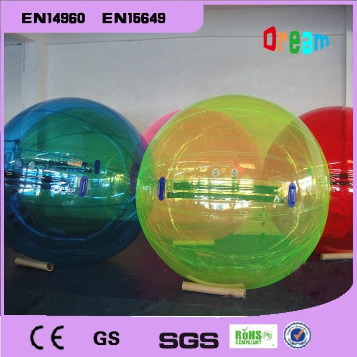 Free Shipping 2m Inflatable Water Walking Ball Water BalloonS Zorb Ball Walking On Water Walk Ball Water Bubble Ball