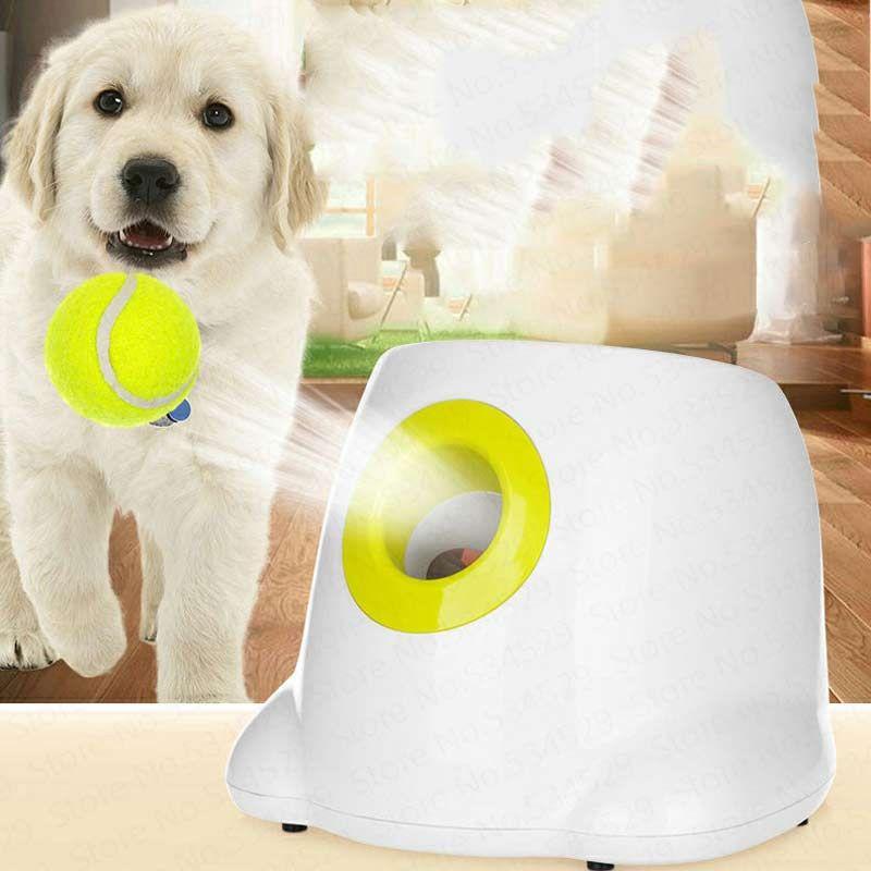 Katapult Für Hunde Ball Launcher Hund Spielzeug Tennis Ball Launcher Springen Ball Pitbull Spielzeug Tennis Ball Maschine Automatische Werfen Pet