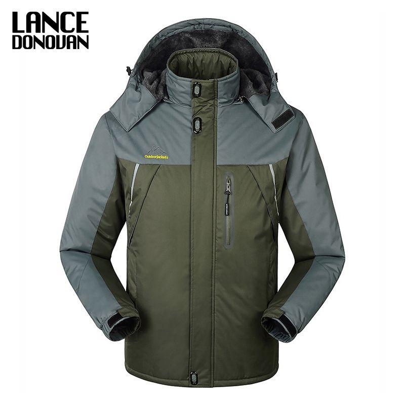 Plus size M-9XL Winter jacket men 2016 Men's new winter dowm coat big yards thick velvet padded brand clothing