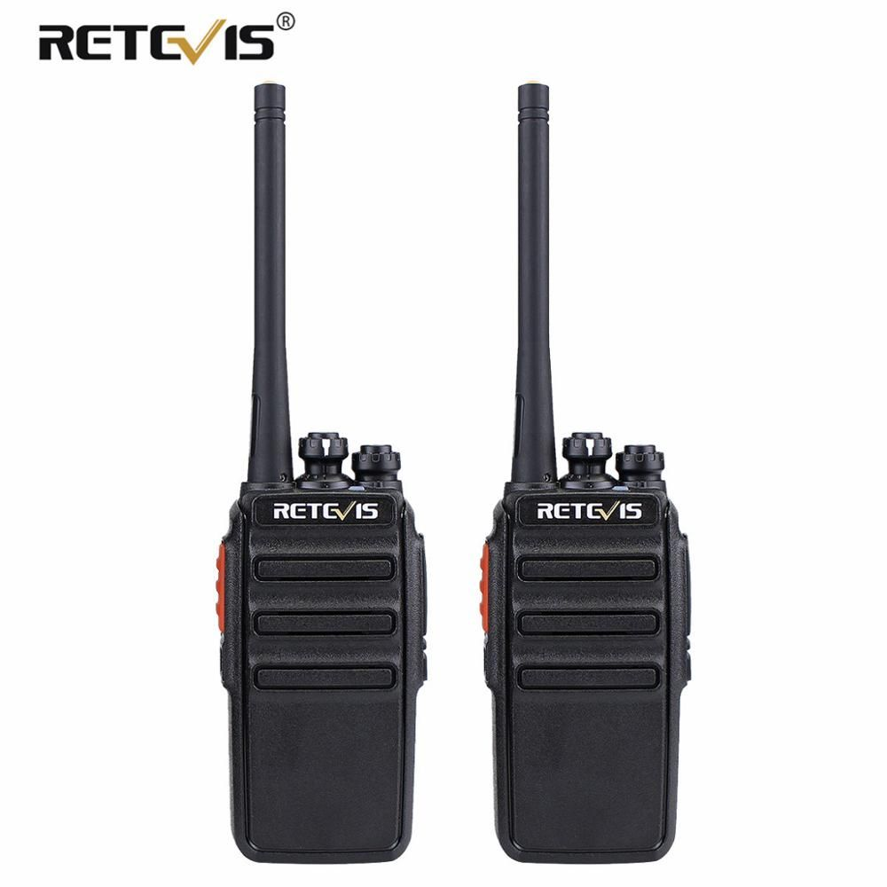 2 pièces rechapé RT24 PMR talkie-walkie sans licence 0.5 W 16CH UHF 446 PMR446 brouilleur VOX émetteur-récepteur Radio Hf à deux voies portable