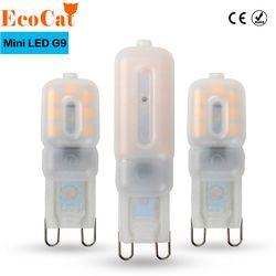 G9 LED 220 V 14 LEDs 22 LEDs 30 LEDs LED G9 Lampe Led-lampe SMD 2835 LED G9 Licht ersetzen 20 W/40 W/60 W Halogenlampe Licht