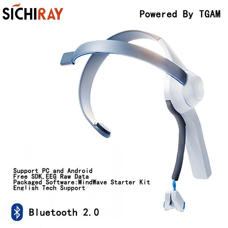 Mindwave Bluetooth 2,0 Headset Version Geistesblitz Sensor Geist Hundespielzeug Für Neurosky Geist Spiele Mit Thinkgear TGAM