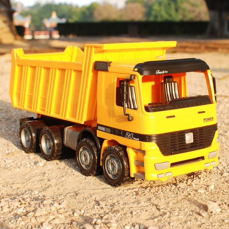 140140 Car large construction toy engineering vehicle inertia truck boy baby boy child large plastic fall resistant 25CM