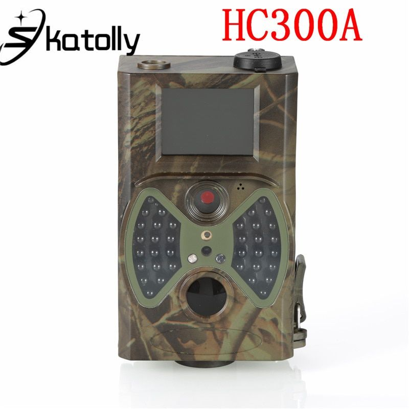 Skatolly Hunting Camera foto trappola Scouting HC300A 12MP HD 1080P photo traps Infrared Trail wild camera chasse