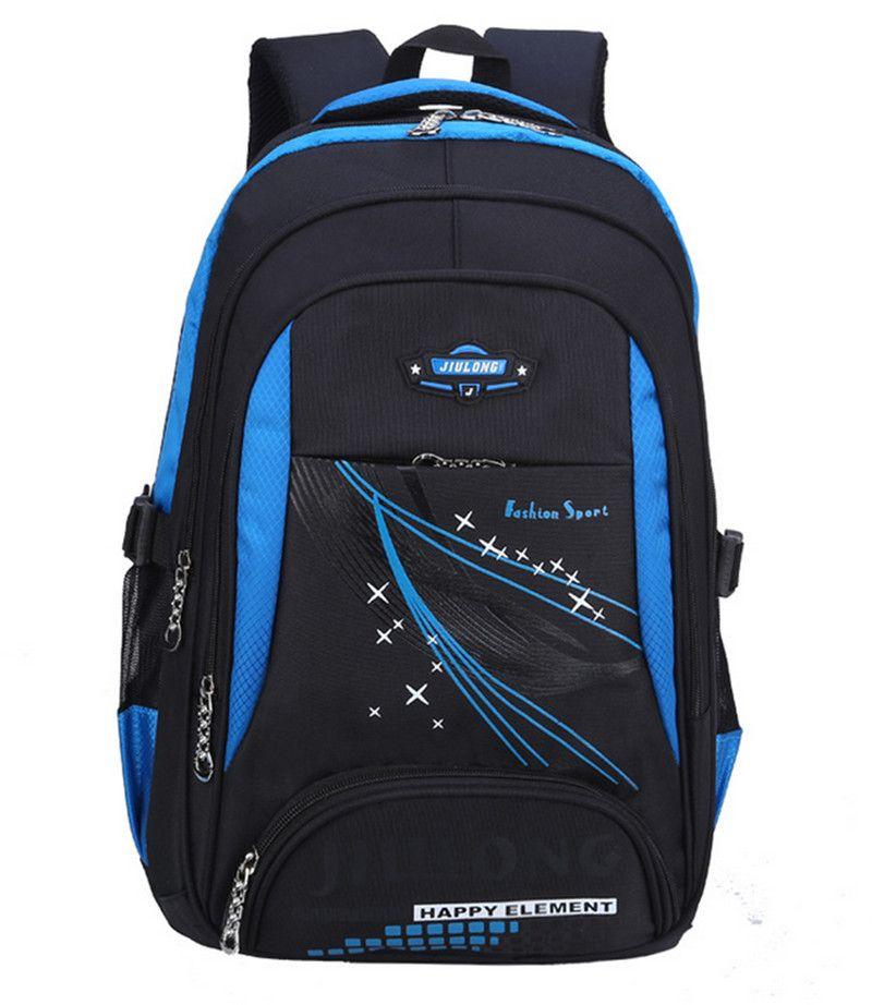 2016 новости дети школьные сумки ортопедические рюкзак школы для мальчиков водонепроницаемый школа сумка дети школьный bookbag mochila ранец школь...