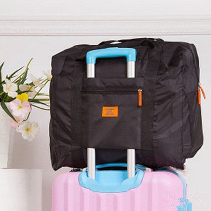 Men WaterProof Travel Bag For Suit Nylon Large Capacity Women Bag Folding Travel Duffle Handbags Luggage Packing Cubes Organizer