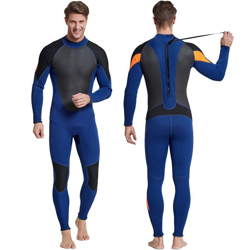 SBART 3MM Neoprene Thick Material Cold-proof Lin Tai Diving Serve long Sleeve Pants Anti jellyfish Male snorkeling Swimming Suit