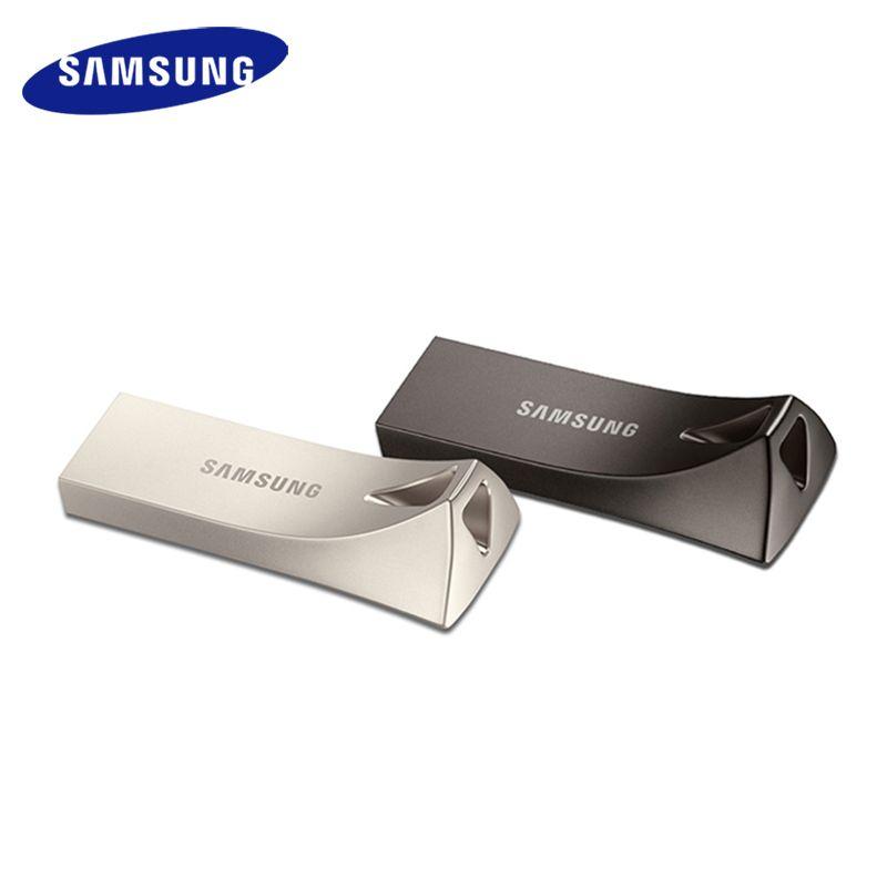 SAMSUNG USB disque mémoire flash 32G 64G 128G 256 GB USB 3.0 ou 3.1 Métal Mini Pen Drive Pendrive carte mémoire périphérique de stockage U Disque