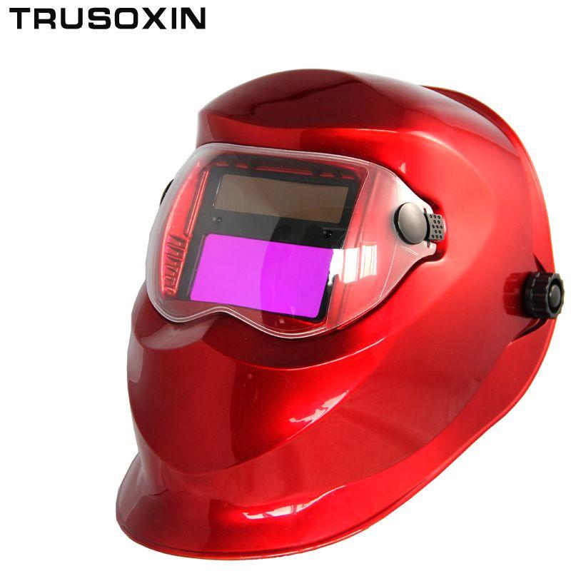 Solar Auto Darkening Welding <font><b>Helmet</b></font>/Welding Mask/Welder Goggles/Eye Mask/Shading Goggles for TIG MMA MIG Welding Machine Welder