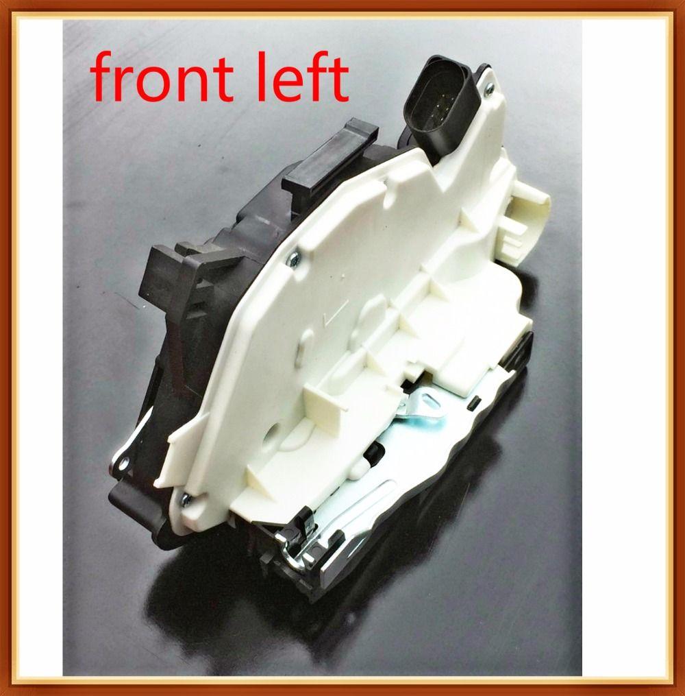front l Door Lock Actuator FOR AMAROK SCIROCCO TIGUAN UP PASSAT CC AUDI A1 8X SEAT IBIZA 6J MII SKODA CITIGO FABIA 5J SUPERB 3T