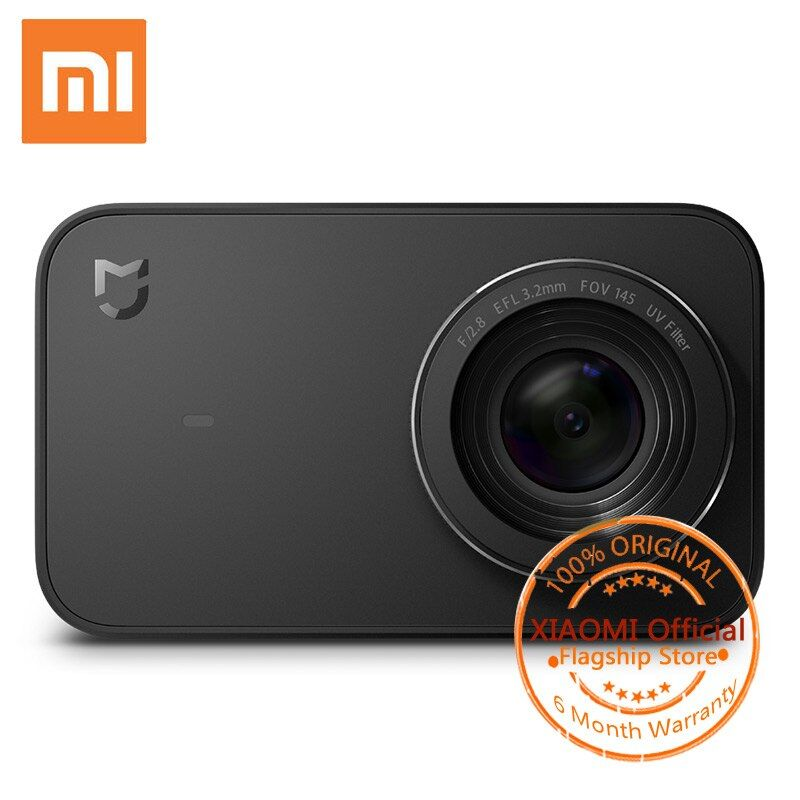 Xiaomi Mijia Mini Sport Action Camera 4K 30fps Video Recording WiFi Bluetooth Cameras with 145 Wide Angle 2.4 Inch Touch Screen