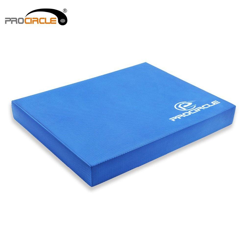 Coussin d'équilibre ProCircle-coussin de Yoga bleu Non glissé-indispensable pour les danseurs et les athlètes Yogis-parfait pour l'entraînement de base et physique