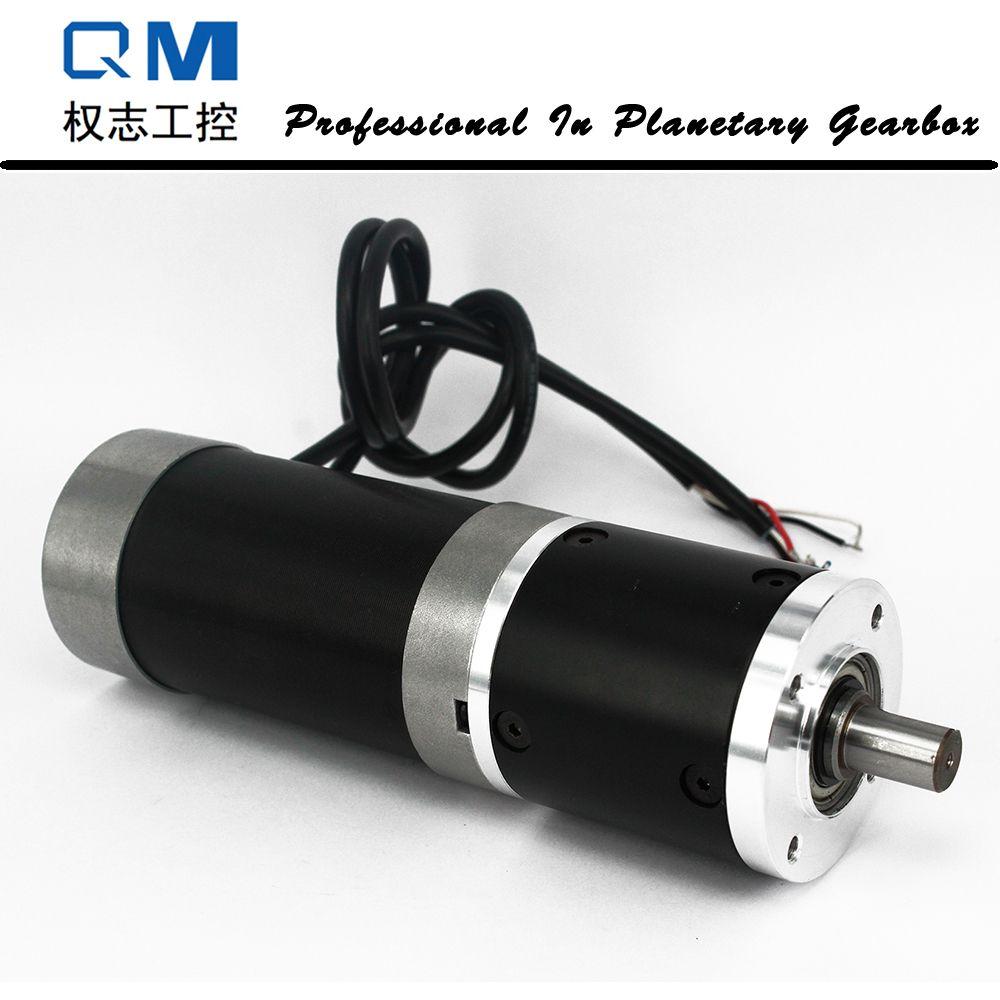 Engrenage dc moteur nema 23 180 W engrenage brushless dc moteur 24 V bldc moteur réducteur planétaire réducteur rapport 50: 1