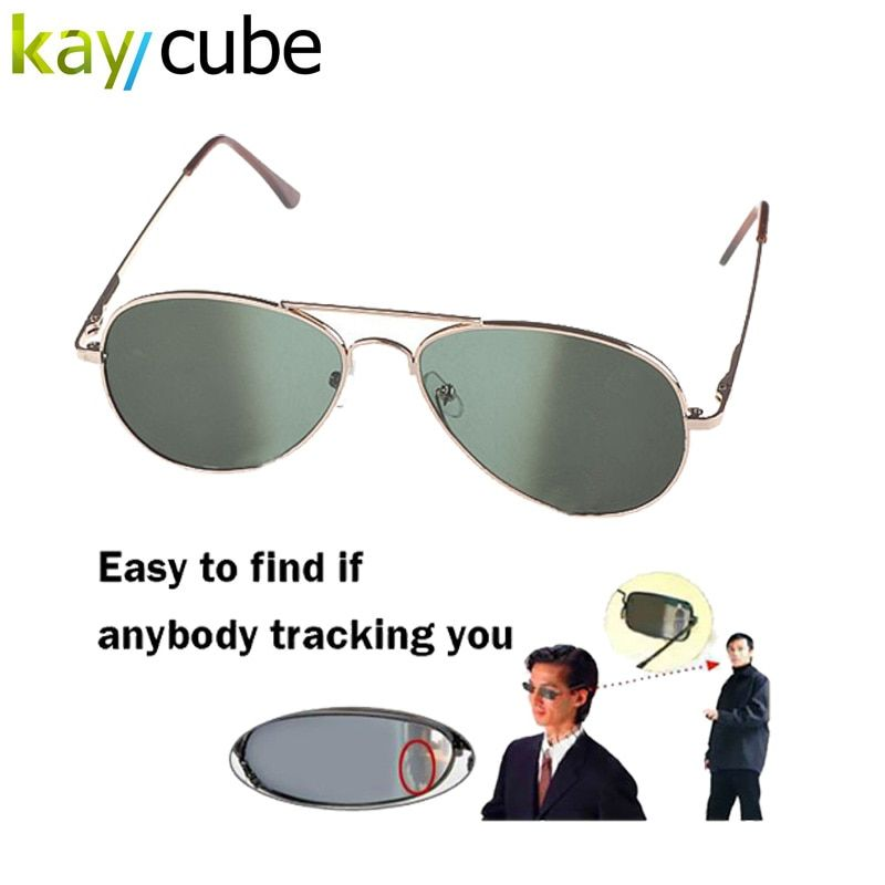 Anti UV Anti-Tracking Sunglasses Anti-Track Monitor Sunglasses Rearview Sunglasses Aviator Glasses Anti Track Security Mirror