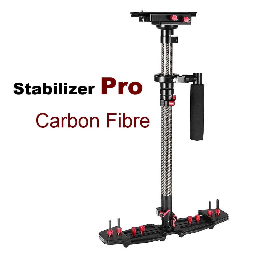 Professionelle Carbon Fiber Video Steadicam Handheld Stabilisator Für Canon Nikon Sony etc. DSLR Kamera Camcorder Stabilisierung System