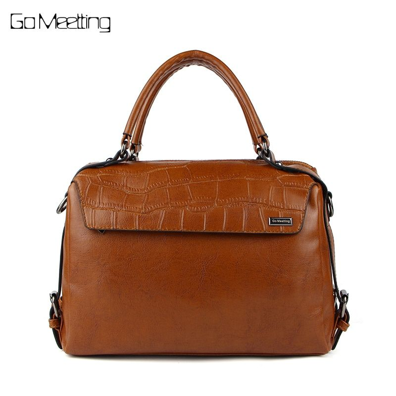 Go Meetting Alligator Women Handbag High Quality PU Leather Woman Crossbody Shoulder Bags Tote Bag Bolsas femininas Female