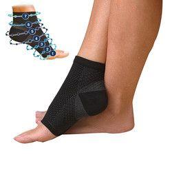 Fuß engel anti fatigue compression fuß sleeve Ankle Support Laufende Zyklus Basketball Sport Socken Im Freien Männer Ankle Brace Socke