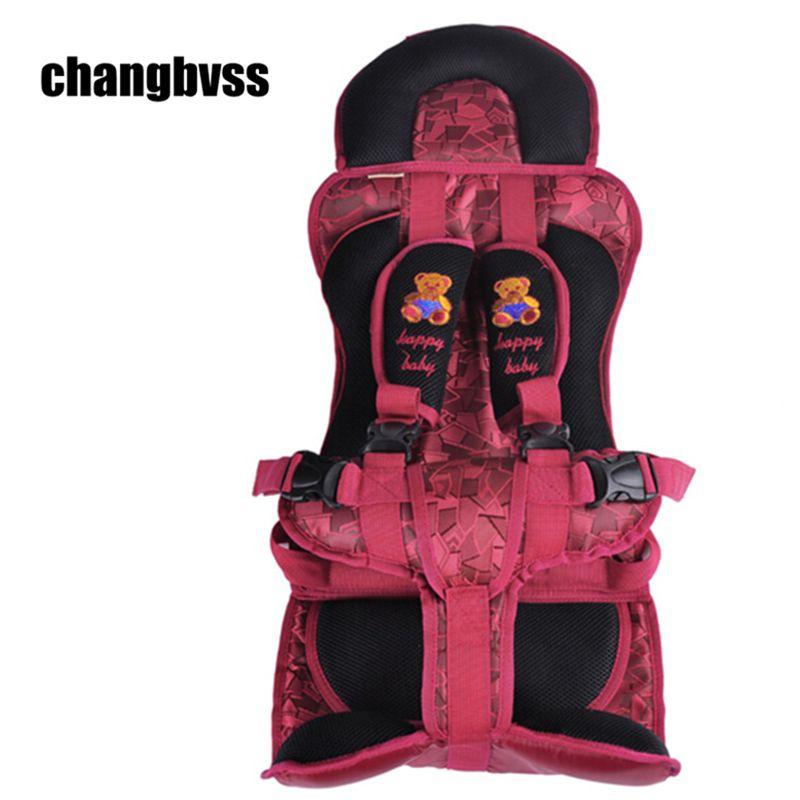 Coche Protección de Los Niños, 0-12 Años de Edad Lovely Baby Car Seat, Portátil y Cómodo Infantil de Seguridad Del Bebé asiento, Práctico cochecito de Bebé Cojín