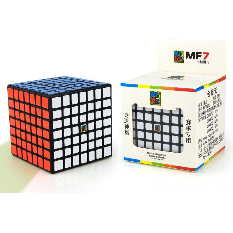 Moyu MofangJiaoshi MF7 MF7S <font><b>Cube</b></font> Speed 7Layers Stickerless Puzzle <font><b>Cubes</b></font> For Children cubo 7x7 Learning EducationToys