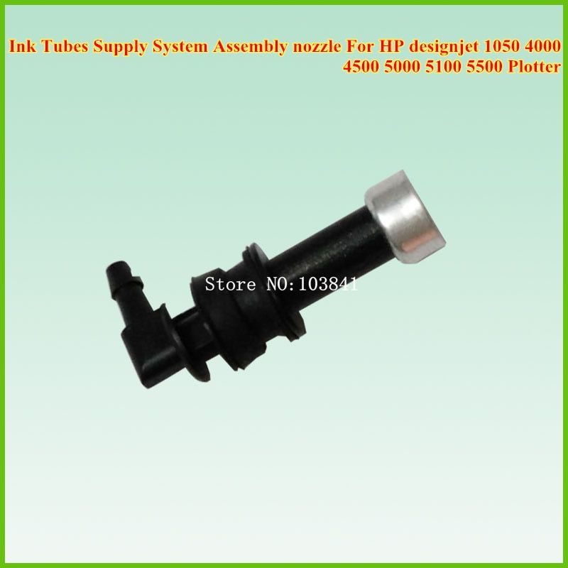 new Ink Tubes Supply System Assembly nozzle For HP designjet 1050 4000 4500 5000 5100 5500 Plotter